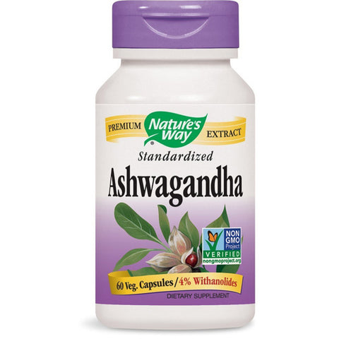 NATURES WAY - Ashwagandha Standardized