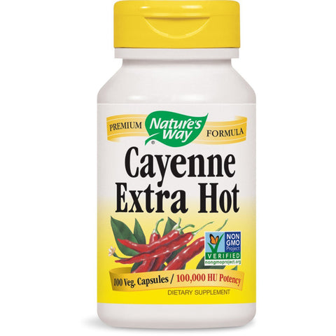 Natures Way Cayenne Extra Hot