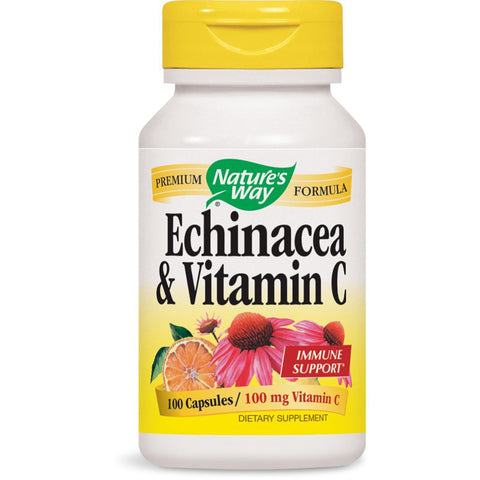 NATURES WAY - Echinacea & Vitamin C 100 mg