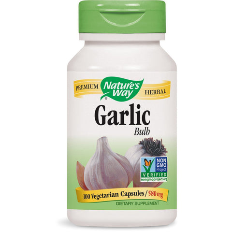 NATURES WAY - Garlic Bulb 580 mg