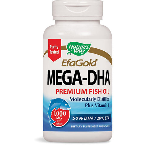NATURES WAY - EfaGold MegaDHA 1000 mg