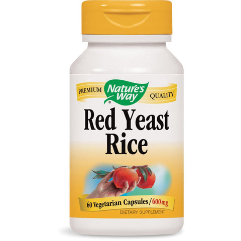 NATURES WAY - Red Yeast Rice 600 mg
