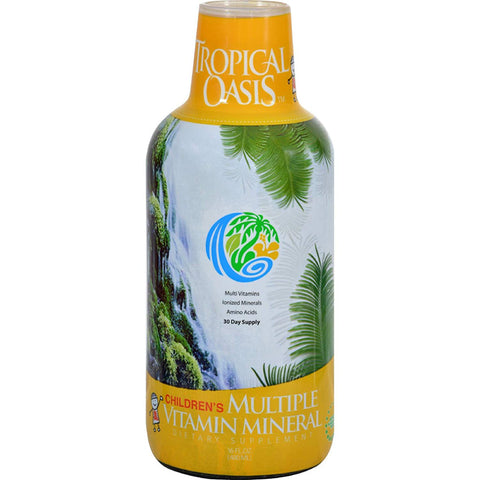 TROPICAL OASIS - Children's Liquid Multi Vitamin and Mineral Supplement