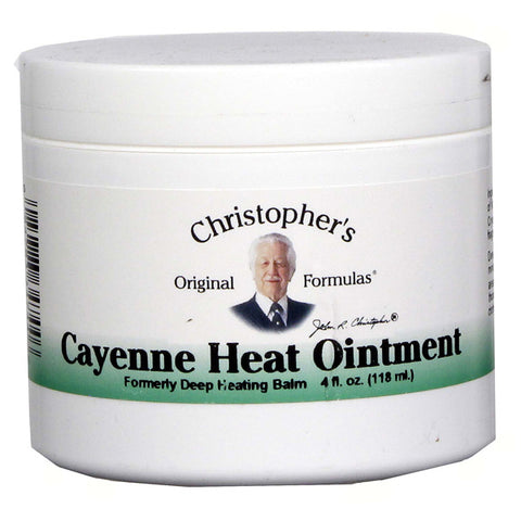 Christophers Original Formulas Cayenne Heat Ointment