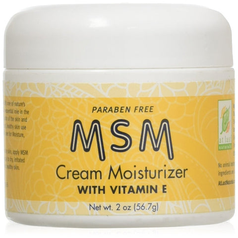 AT LAST NATURALS - MSM Cream Moisturizer with Vitamin E