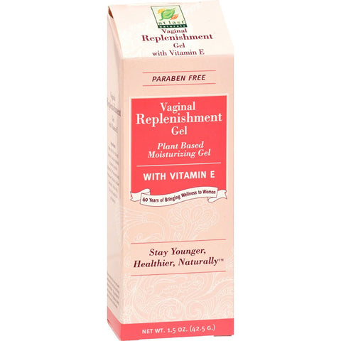 AT LAST NATURALS - Wild Yam Vaginal Moisturizing Gel with Vitamin E