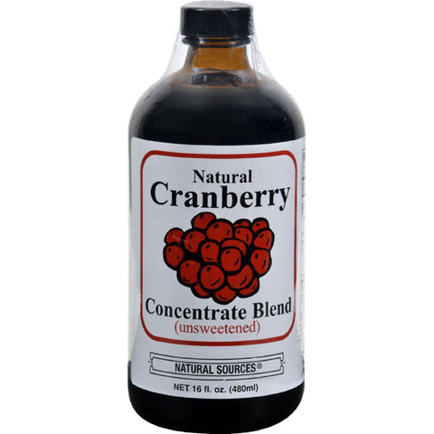 NATURAL SOURCES - Natural Cranberry Drink Concentrate