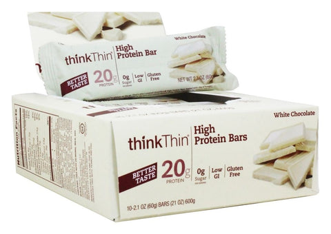Think Products ThinkThin Protein Bars White Chocolate