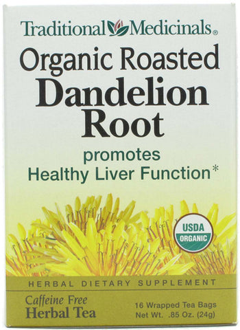Traditional Medicinal Organic Roasted Dandelion Root