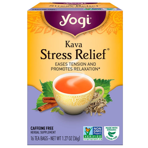 YOGI TEA - Kava Stress Relief Tea