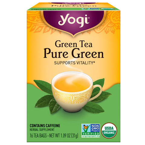 YOGI TEA - Green Tea Pure Green