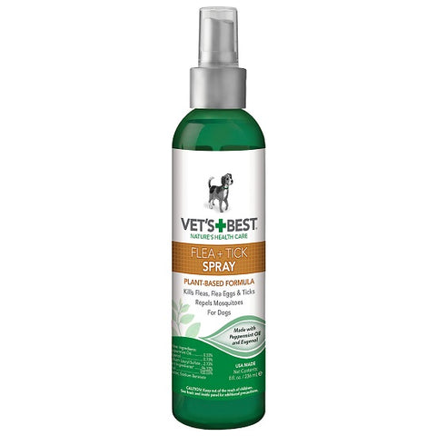 Natural Flea & Tick Spray