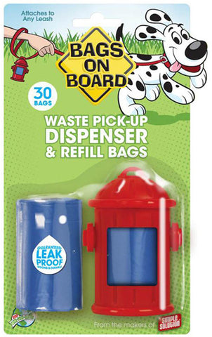 Fire Hydrant Dispenser & Refill - 30 Bags