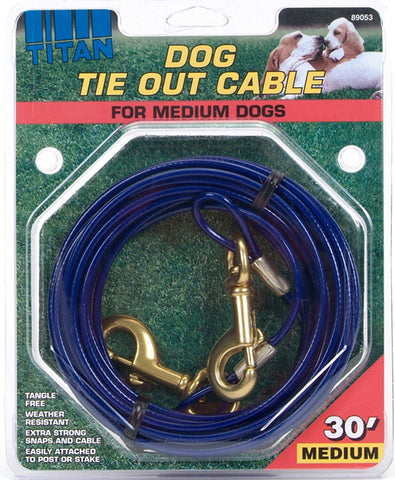 Dog Tie Out Cable Medium