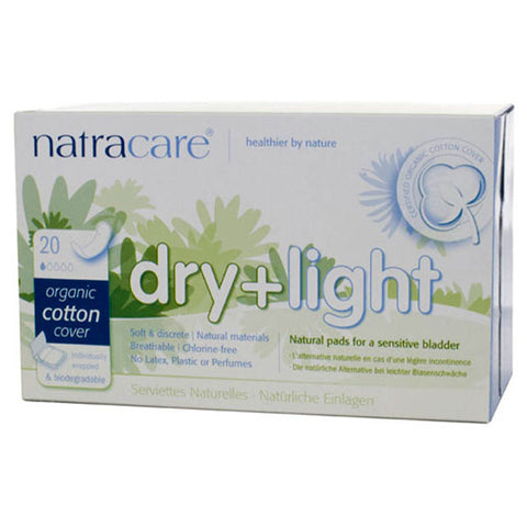 NATRACARE - Dry & Light Natural Incontinence Pads