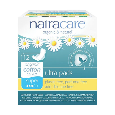 NATRACARE - Natural Feminine Ultra PadsSuper with Wings