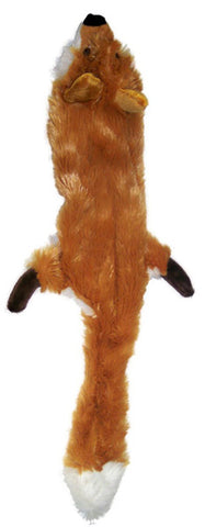 Skinneeez Plush Fox Mini Dog Toy