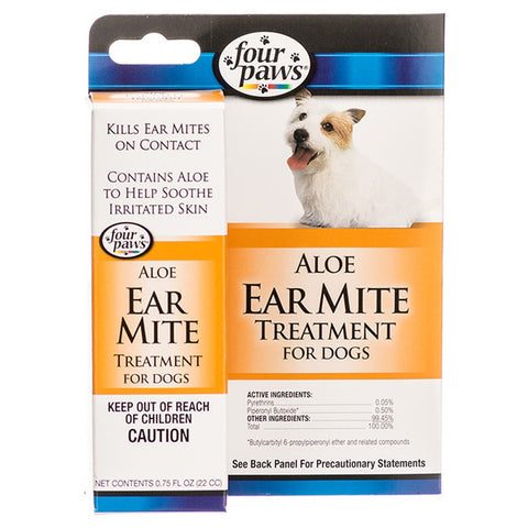 FOUR PAWS - Ear Mite Remedy for Dogs