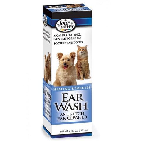 FOUR PAWS - Ear Wash Anti-Itch Ear Cleaner for Dogs