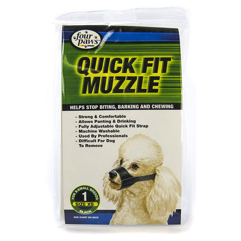 FOUR PAWS - Quick Fit Muzzle for Dogs