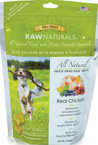 Raw Naturals Freeze Dried Real Chicken Treats