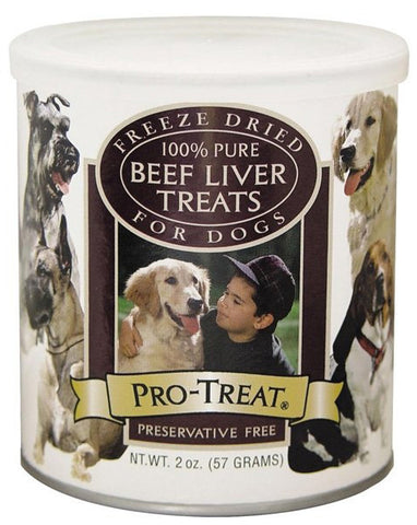 Pro-Treat Freeze Dried Beef Liver Bag