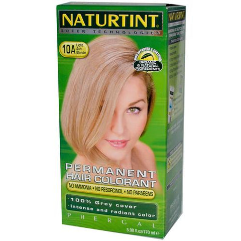 Naturtint Permanent Hair Colorant Light Ash Blonde 10A