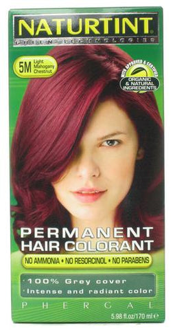 Naturtint Permanent Hair Colorant Light Mahogany Chestnut 5M
