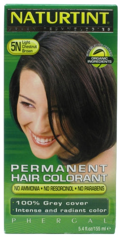 Naturtint Permanent Hair Colorant Light Chestnut Brown 5N