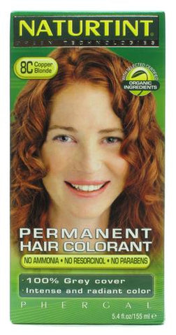 Naturtint Permanent Hair Colorant Copper Blond 8C