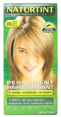 Naturtint Permanent Hair Colorant Wheat Germ Blonde 8N