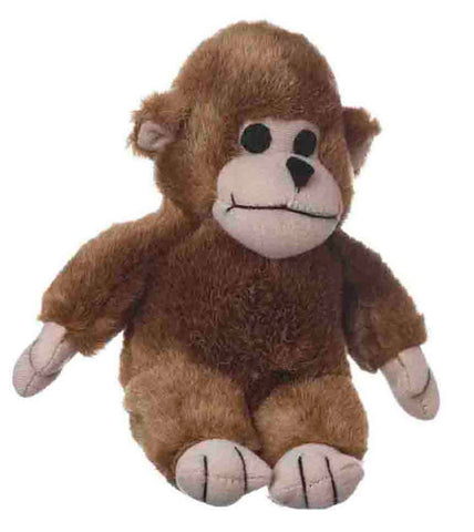 Look Whos Talking Monkey Plush Dog Toy 7 Inch
