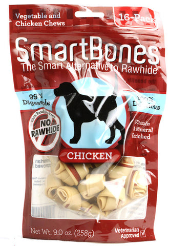 Chicken Chews Dog Treat Mini 2 - 16 Bones