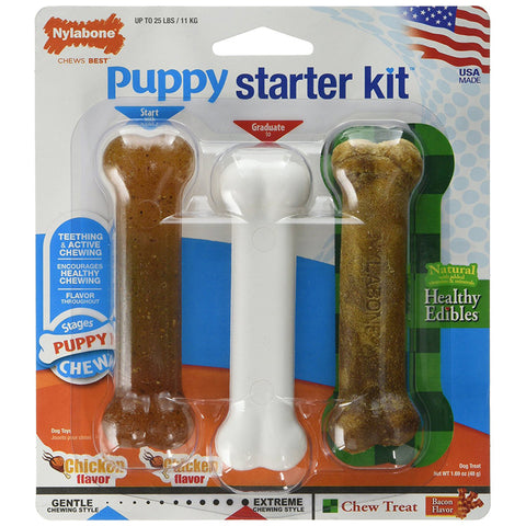 PUPPY CHEW - Puppy Starter Kit Dog Chew Toys Regular