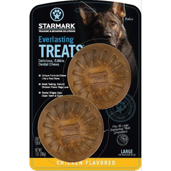StarMark Everlasting Treats for Dogs Chicken Large