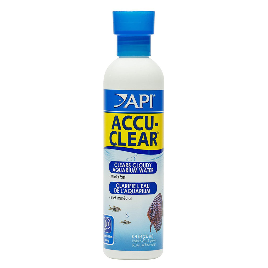 Aquarium Pharmaceuticals - Accu-Clear Water Clarifier - 8 fl. oz.