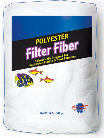 Blue Ribbon - Polyester Filter Fiber