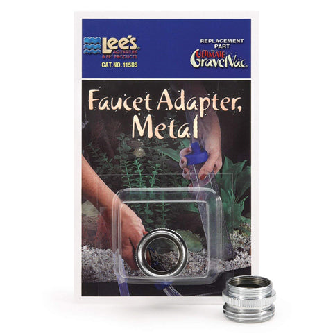 Lee's Pet Products - Ultimate GravelVac Faucet Adapter Metal - 1 Adapter