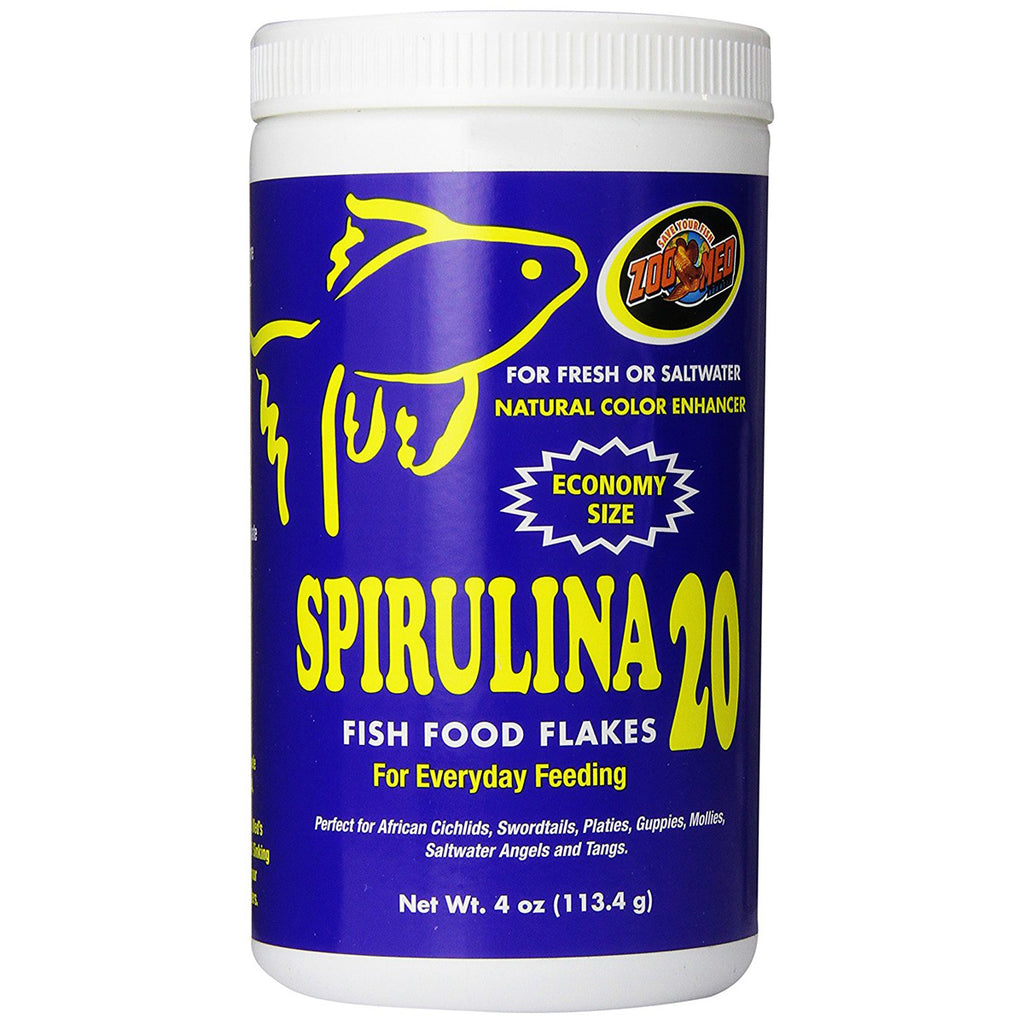 ZOO MED - Spirulina 20 Fish Food Flakes