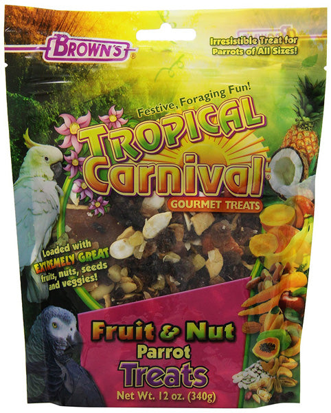 BROWNS - Tropical Carnival Fruit and Nut Parrot Treat