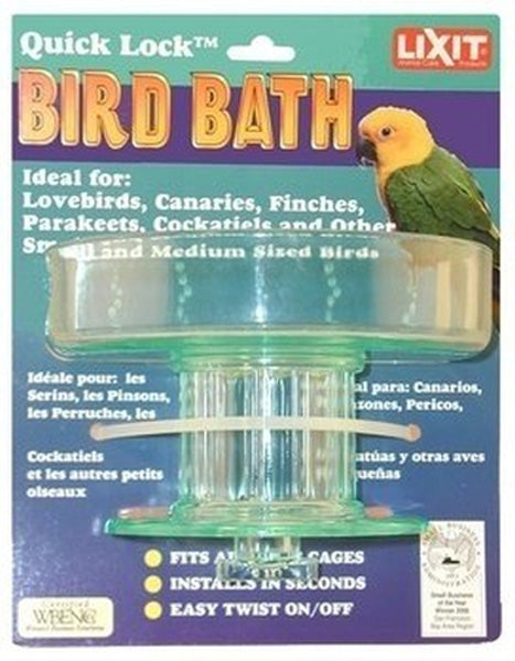 "Lixit Corporation - Quick Lock Bird Bath - 5"" x 4"""