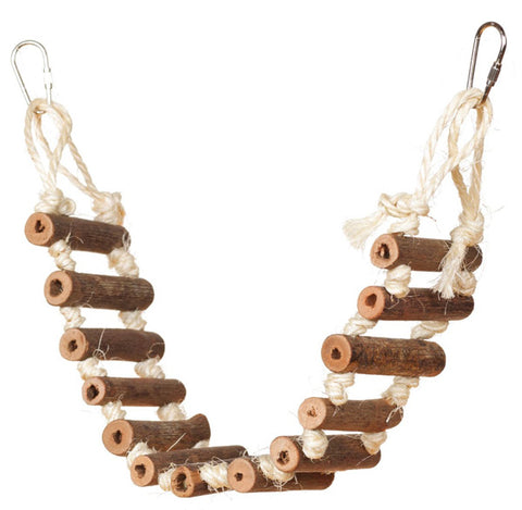 PREVUE - Naturals Rope Ladder Bird Toy Small