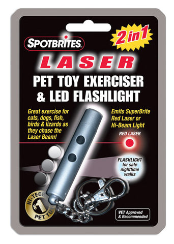 Ethical Pet Products - SpotBrites Laser Pet Toy Exerciser