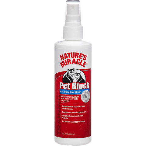 NATURE'S MIRACLE - Cat Pet Block Repellent Spray