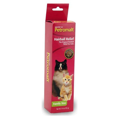 St.Jon Pet Care (Virbac) - Petromalt Hairball Remedy for Cats - 4.4 oz.