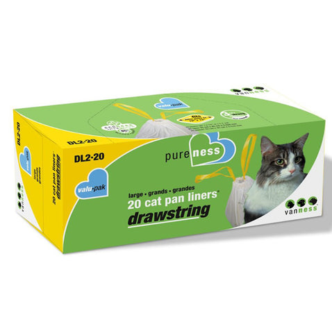 VAN NESS - Pureness Large Drawstring Cat Pan Liners