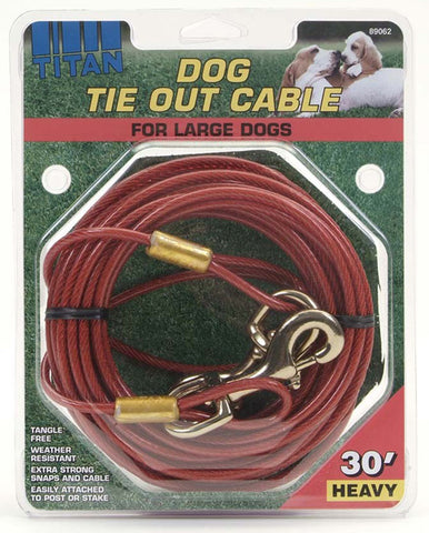 Coastal Pet Products - Titan Heavy Cable Dog Tie Out