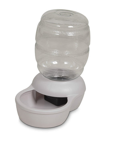 PETMATE - Replendish Gravity Feeder with Microban Pearl White
