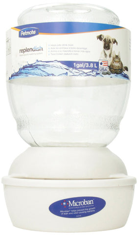 PETMATE - Replendish Feeder with Microban Pearl White