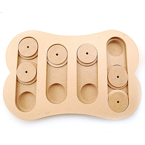Ethical Pet Products - Seek-A-Treat Shuffle Bone Dog Puzzle